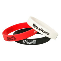 Falling In Reverse Just Like You Rubber Bracelet 3 Pack