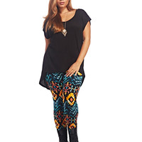 Tribal Soft Legging | Wet Seal+