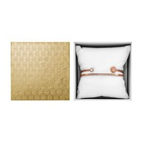 Logo Rose Gold-Tone Cuff Set | Michael Kors
