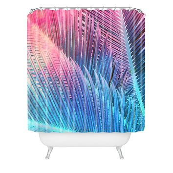 Emanuela Carratoni Palm 1 Shower Curtain