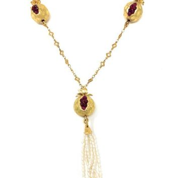 DCCKAB3 Falling For Pomegranates Necklace N591aox