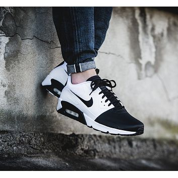 NIKE AIR MAX 90 fashion ladies men running sports shoes sneakers F-PS-XSDZBSH  White colours