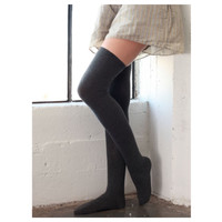 """""""Touch of Style"""" Over the Knee High Socks"""