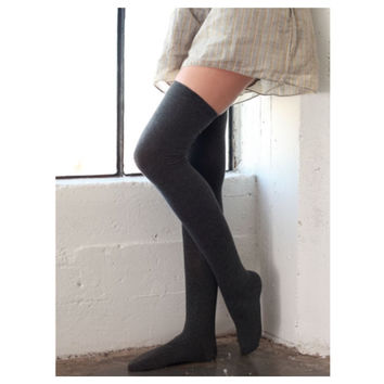 """Touch of Style"" Over the Knee High Socks"