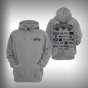 Team Angler Chick Sponsored Graphic Hoodie Sweatshirt