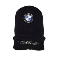 Club Foreign Race Ski Mask BMW