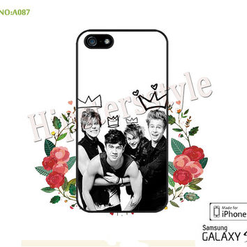 5S0S Phone Cases, iPhone 5/5S Case, iPhone 5C Case, iPhone 4/4S Case, Galaxy S3 S4 S5 Note 2 Note 3 Case 5 seconds of summer-A087