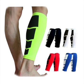 1 Pcs Men Knee Pads Leg Calf Wraps Knee Protector Protective Gear Compression Leggings for Outdoor Running Cycling Basketball