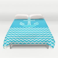 Anchor Duvet Cover by Haroulita