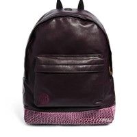 Mi Pac Prime Leather Look Backpack