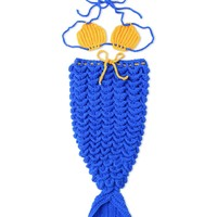 Baby Photography Prop Knitted Mermaid Tail Costume
