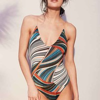 Contour By LEZARD Colette Reversible One-Piece Swimsuit