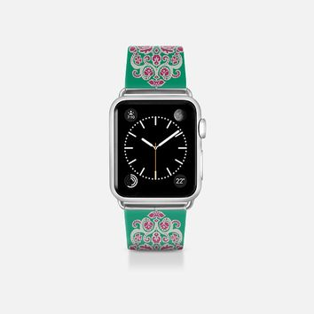 Saina damask ikat apple watch band Apple Watch Band (38mm)  by Sharon Turner | Casetify