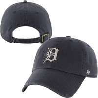 Detroit Tigers '47 Brand Basic Logo Cleanup Adjustable Hat – Navy Blue