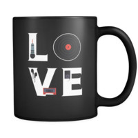 DJ / Singer / Beatboxing - LOVE DJ / Singer / Beatboxing  - 11oz Black Mug