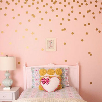 Modern Polka Dots Remove Wall Sticker Vinyl Wall Art Diy Cartoon