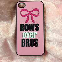 iPhone Case- Bow to Toe- iPhone 4 Case, iPhone 4s Case,iPhone 5,  Cheer Case, Custom iPhone Case
