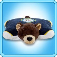 Pillow Pets® Folding Plush :: US Navy Blue Bear - My Pillow Pets® | The Official Home of Pillow Pets®