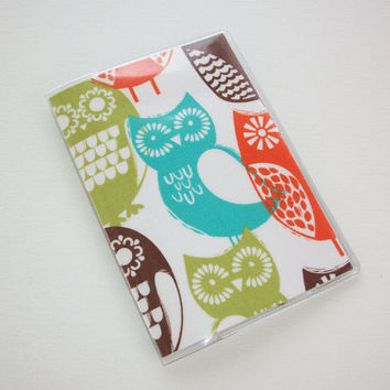 Passport Cover / Holder / Case - Swedish Owls