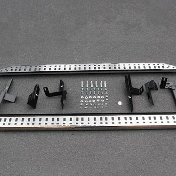 For LAND ROVER LR4 Discovery 4 2011 - 2014 Aluminum Alloy Side Door Step Running Board 1set