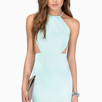 Stolen Hearts Halter Bodycon Dress