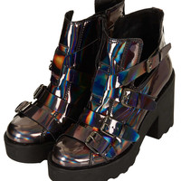 ARGO Heavy Strap Boots - Boots - Shoes - Topshop USA