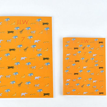 The Darjeeling Limited Journal - Wes Anderson notebook as a lined or plain pad! jason schwartzman, owen wilson