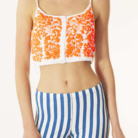 Tall Floral Embroidered Crop - New In This Week - New In - Topshop USA