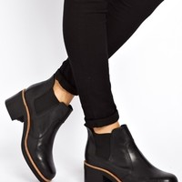 ASOS ATMOSPHERE Leather Chelsea Ankle Boots