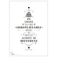 'Coco Chanel' Print | Folly Home | Design-led Gifts, Home wares, Vintage Finds