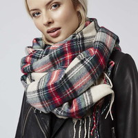 Supersoft Check Scarf