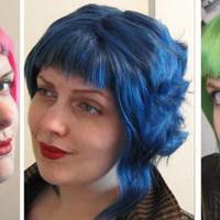 Ramona Flowers CHOOSE YOUR COLOR, high quality wig, one of a kind 'Scott Pilgrim' a-line