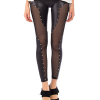 Stars and Squares Studded Leggings - 2020AVE