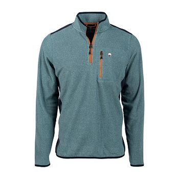 Trailhead Quarter Zip in Deep Atlantic by The Southern Shirt Co.