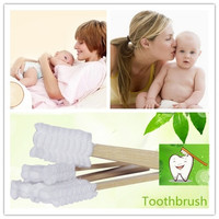 New Pregnant Women Confinement Puerpera Toothbrush Dry and Wet use 30PCS one Set Disposable Traveling Convenience Minty