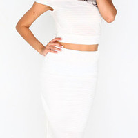 "The ""Princess"" Two Piece- White"