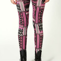 Alex Multi Geo Print Leggings