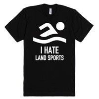 Hate Land Sports-Unisex Black T-Shirt