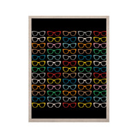 "Project M ""Sun Glasses at Night"" KESS Naturals Canvas (Frame not Included)"