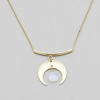 'Moon Drop' Necklace