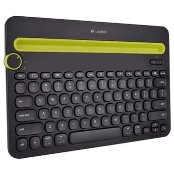 Logitech K480 Bluetooth Multi-Device Keyboard for iOS/Mac OS/Android/Windows/Chrome OS Devices (Black) - B