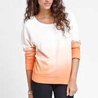 Kirra Dip Dye Studded Crew Neck Fleece at PacSun.com