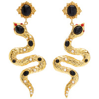 Serpente Earrings | Moda Operandi