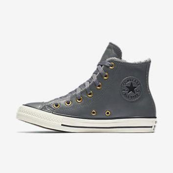 VONET6 CONVERSE CHUCK TAYLOR ALL STAR LEATHER AND FAUX FUR HIGH TOP