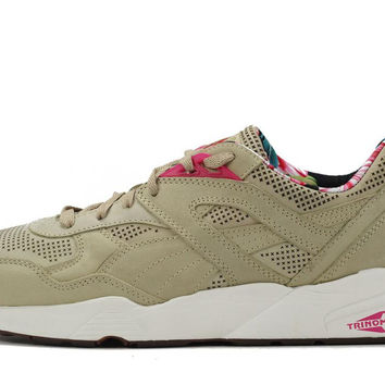 Puma for Men: R698 Tropicalia Pale Khaki Sneaker