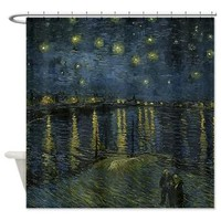 Van Gogh - Starry Night Over the Rhone Shower Curt> Starry Night Over the Rhone> Art Museum