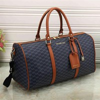 Day-First™ MK Women Leather Luggage Travel Bags Tote Handbag I-MYJSY-BB I-MYJSY-BB