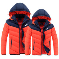 Nike: jacket down cotton-padded jacket sports cotton-padded clothes coat couple cotton-padded clothes