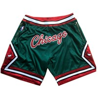 """Limited """"CHICAGO"""" Custom Mitchell & Ness 2008-09 Authentic Chicago Bulls Shorts"""