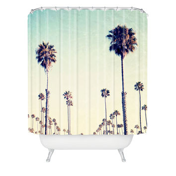Bree Madden California Palm Trees Shower Curtain